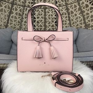 ❗FIRM❗️Kate Spade Hayes Leather Mini Satchel